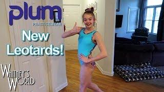 New Plum Leotards! Whitney Bjerken Gymnastics