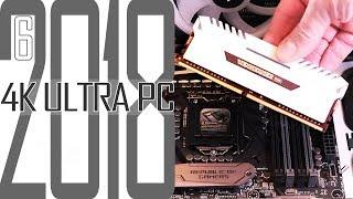 4K Ultra Gaming PC 2018 #6 Passt der Corsair RGB RAM rein? / Selber zusammenbauen für Anfänger