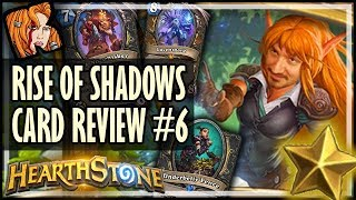 RISE OF SHADOWS CARD REVIEW #6 - Kripp ⭐ Ratings - Hearthstone