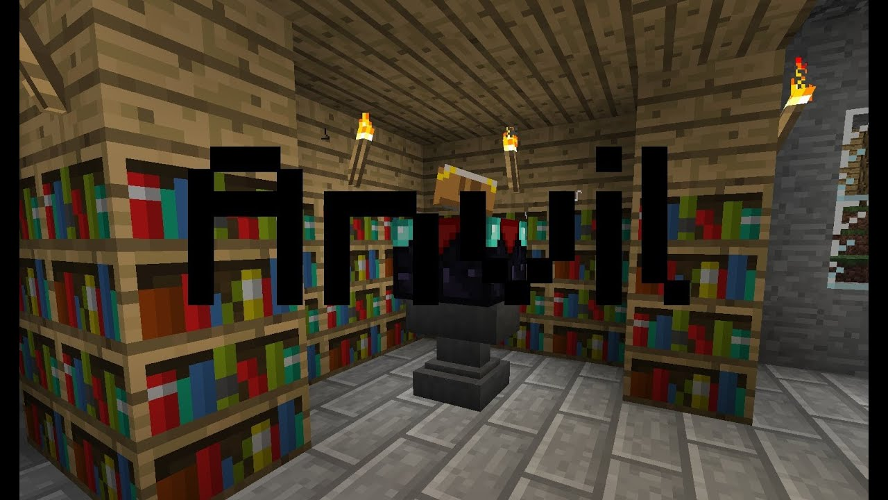 Hur man gör Städ Anvils i Minecraft YouTube