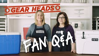 Lisa and Hannah answer your equipment-related questions. The produc...