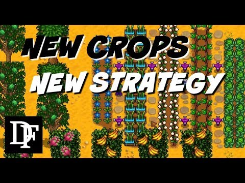 New Crops, New Mechanics, New Strategy! Longevity Mod! - Stardew Valley