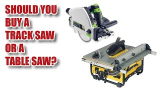Track Saw vs Table Saw - which is faster in my workshop?
