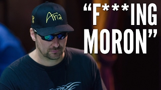 Phil Hellmuth Is LIVID! He Can't Believe What Brandon Adams Did