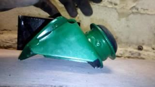 Железные крабы на ВАЗ вместо алюминиевых кронштейнов передней растяжки .