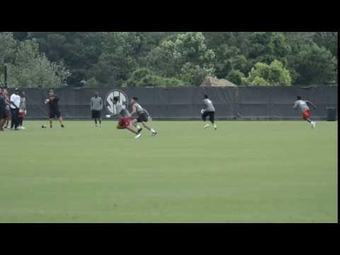Alan Alvarez Jr At University Of South Carolina Football Camp 7