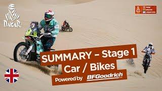 Summary - Car/Bike - Stage 1 (Lima / Pisco) - Dakar 2018