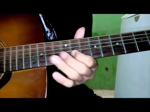 Belajar Melodi Gitar Akustik Lagu Kutunggu Kau Putus Sheryl Sheinfia