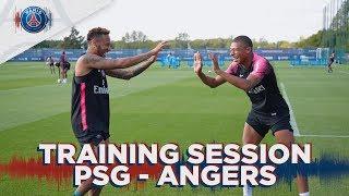 TRAINING SESSION - ENTRAINEMENT - PARIS SAINT-GERMAIN vs ANGERS