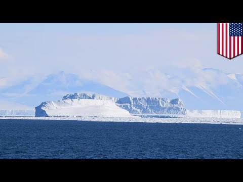 Iceberg size of Delaware breaks off from ice shelf in Antarctica, could raise sea levels - TomoNews