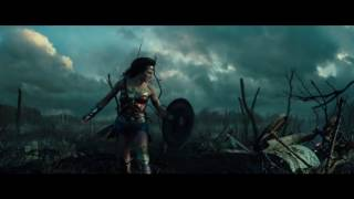 Wonder Woman - Trailer VFX/grading comparison