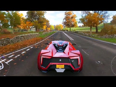 Forza Horizon 4 – W Motors Lykan HyperSport 2016 – Open World Free Roam Gameplay (HD) [1080p60FPS]