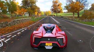 Forza Horizon 4 - W Motors Lykan HyperSport 2016 - Open World Free Roam Gameplay (HD) [1080p60FPS]