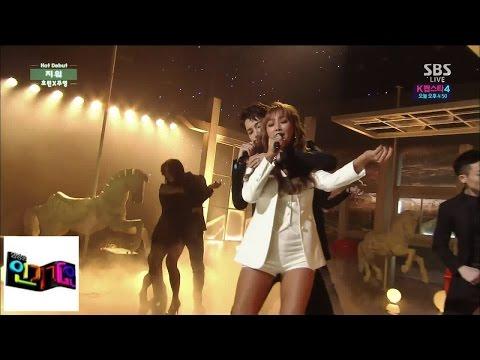 [Ju-X X Hyori (feat. Iron)] Dihapus @ Lagu Populer Inkigayo 141123