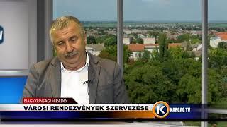 Városi rendezvények szervezése Szepesi Tibor