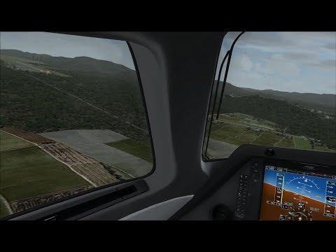 MANADO VFR.. Landing RW36 pake BizJet