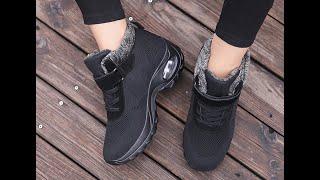 Женские зимние кроссовки. Спортивные кроссовки. Товар с алиэкспресс.
