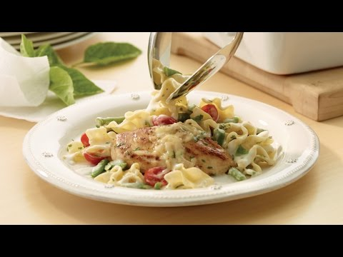 Chicken and Vegetable Casserole with Basil | 2012 Milk Calendar Recipe