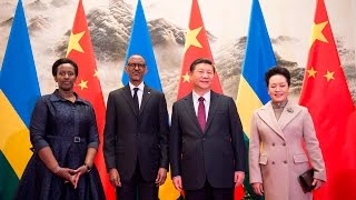 PRESIDENT KAGAME MEETS CHINESE PRESIDENT