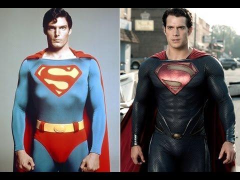 Superman 2006 vs Superman 2013 Superman 1978 vs Superman 2013
