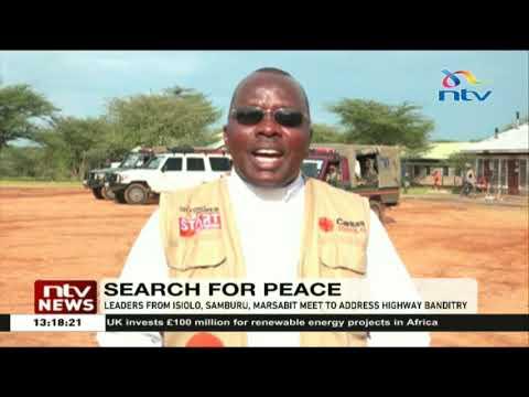 Leaders from Isiolo, Samburu, Marsabit meet to address highway banditry