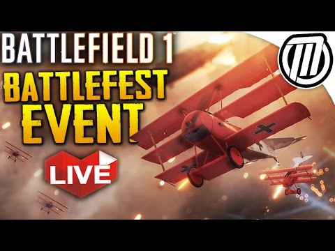 Battlefield 1: Battlefest Event & BIG Subscriber Server WAR | Gameplay Live Stream