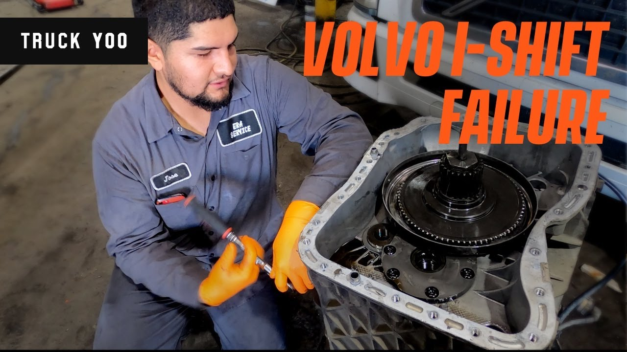 Volvo I-shift failure. What to know.