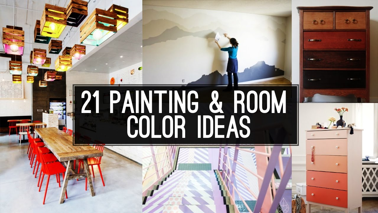 21 Home Painting And Room Color Ideas Youtube