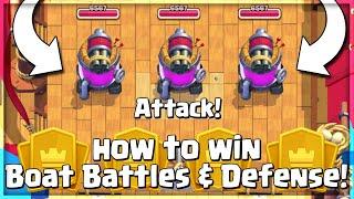 Destroying Opponents Boat in Clan Wars 2! Boat Defense \u0026 Boat Attack Explained! Clan Wars 2 Defense