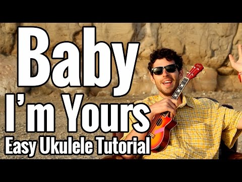 The Arctic Monkeys - Baby I'm Yours Ukulele Tutorial - Easy Play Along