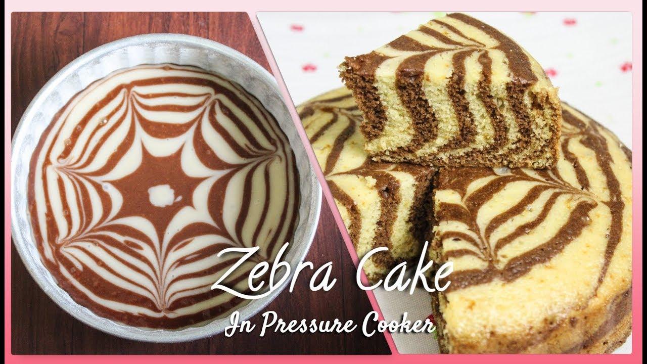 Zebra Cake in pressure cooker(hindi English 89e72938ea