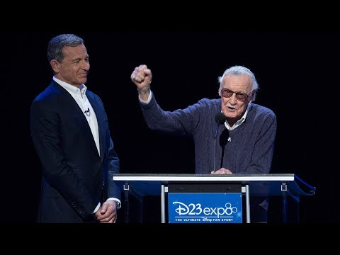 Stan Lee Disney Legends acceptance speech at D23 Expo 2017