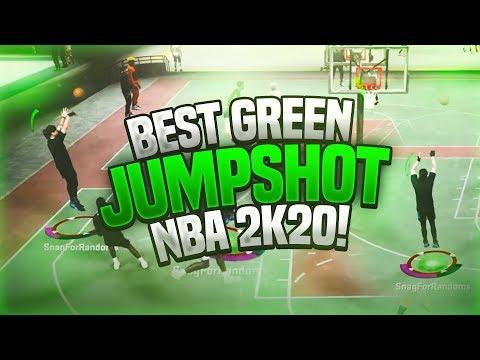 I PUT ON TYCENO'S JUMPSHOT AND THIS HAPPENED......BEST JUMPSHOT  ON NBA 2K2O!