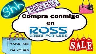 Compra conmigo en ROSS !!! Vídeo Largo😉DE TODO UN POCO