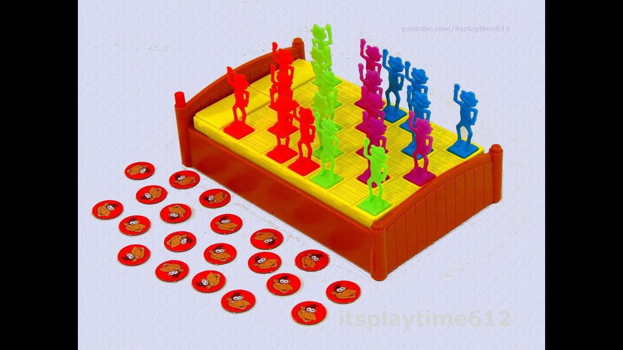 Monkeys Jumping On The Bed Family Game From Briarpatch U Games