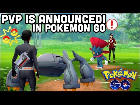 PVP OFFICIALLY ANNOUNCED IN POKEMON GO   PLAYER VS PLAYER & BATTLE LEVELS