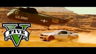 GTA V Need For Speed 2014 Movie - Canyon Jump Scene