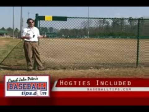 Baseball & Softball Field Fence Cap