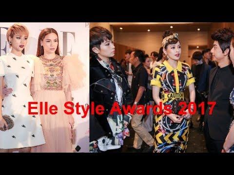 Trực Tiếp :thảm đỏ Elle Style Awards 2017(Tin tức Sao Việt)