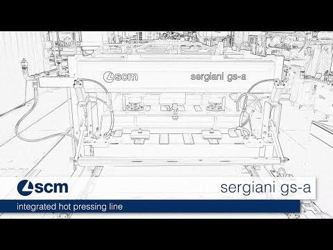 Single Opening Press with Manual Loading Sergiani GSA - SCM