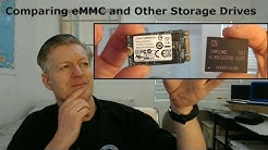 What is a eMMC? Intro, Comparing to Other Storage, and Upgrading. SSD, M.2