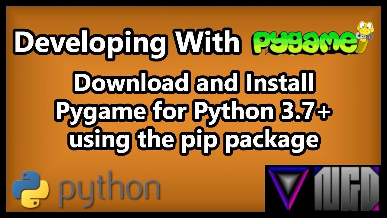 pygame pour python 3.4