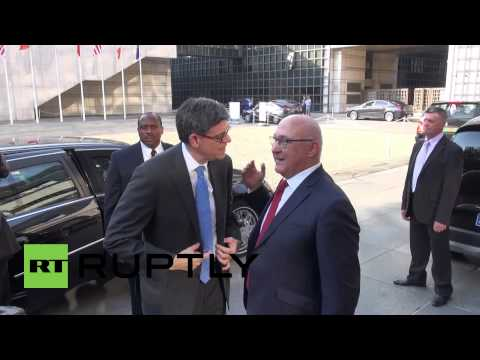 France: US Treasury chief Lew meets French FinMin Sapin in Paris