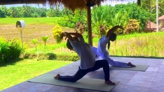 Balinese Watukaru Yoga--Moon salutation