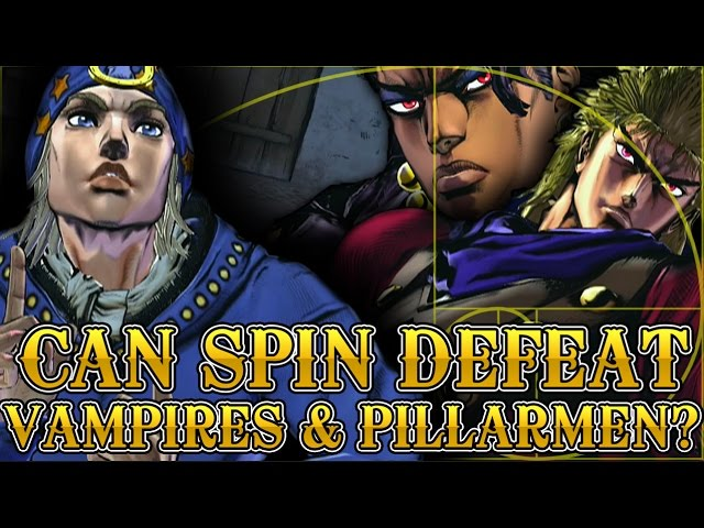 Can Spin defeat Vampires and Pillarmen? - JoJos Bizarre Adventure Explained Discussion w/Kaleb I.A