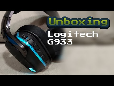 Turbine seu Setup com o Top Logitech G933 - Unboxing e Review