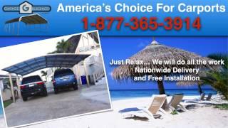 Alberta Carport Prices | Alberta Virginia Carport Sale