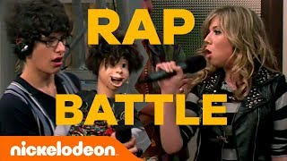 iCarly Challenges Victorious w/ Rap Battle 🎤 & Bonus Original Song 'Countdown' | #MusicMonday