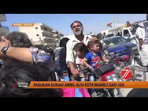 Suriah Ambil Alih Kota Manbij Dari ISIS
