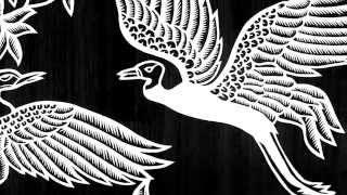 Paper Cutting: Batik Hokokai - Burung Bangau & Kipas